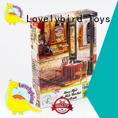 Lovelybird Toys colorful 1000 jigsaw puzzles for adult