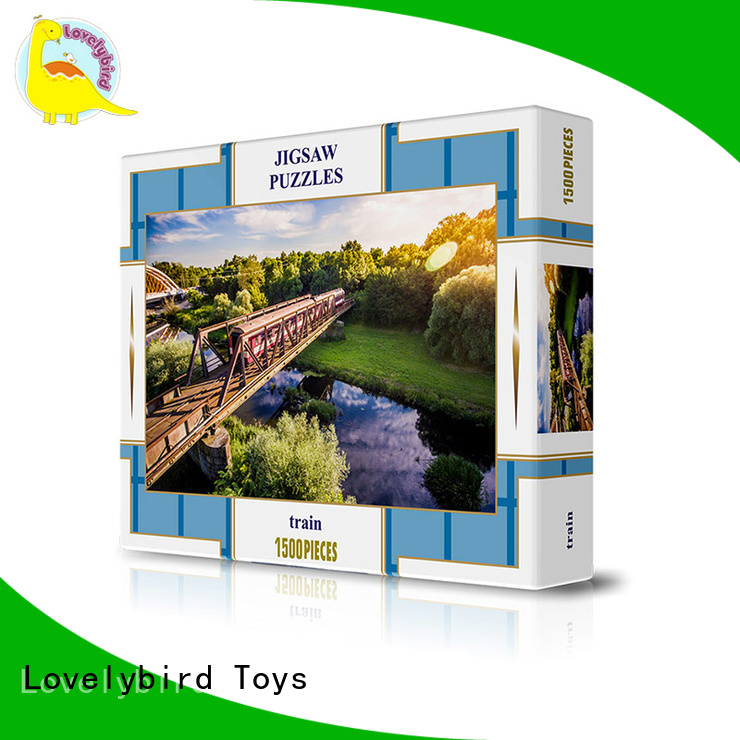 fast delivery jigsaw puzzle games for adults new wholesale Lovelybird Toys