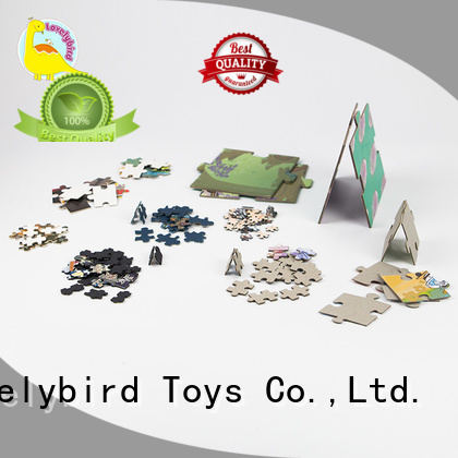 popular paper puzzle customization for present Lovelybird Toys