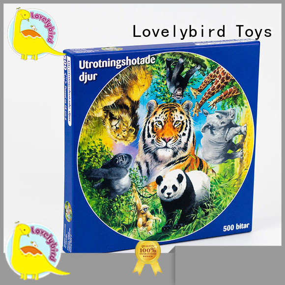 Lovelybird Toys game new jigsaw puzzles design for sale