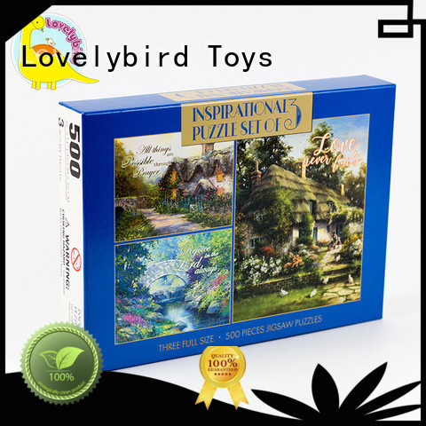 Lovelybird Toys hot stamping jigsaw puzzles gratuits cool for sale