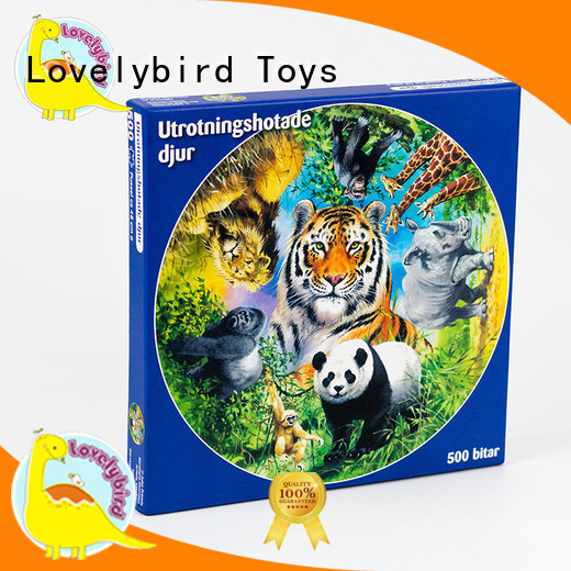 Lovelybird Toys hot stamping best jigsaw puzzles wholesale for sale