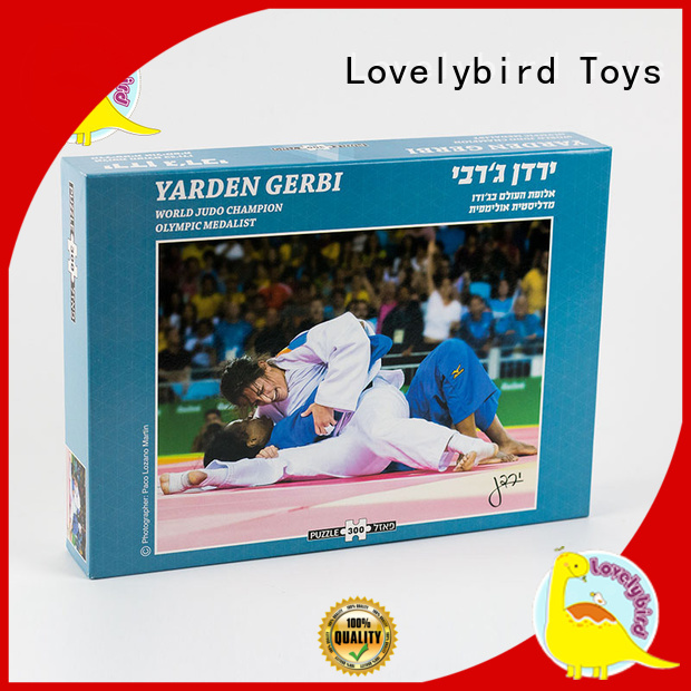 Lovelybird Toys paper jigsaw puzzle 300 pieces for sale