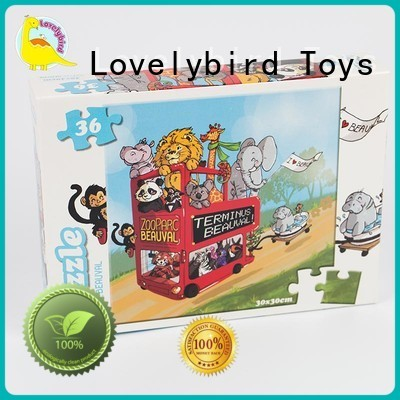 36 piece puzzle for present Lovelybird Toys