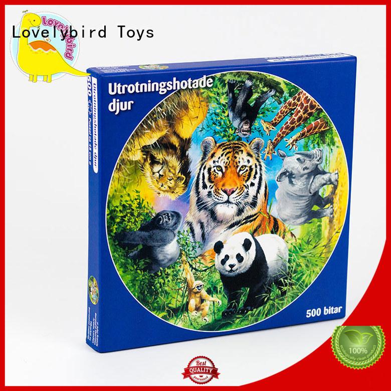 Lovelybird Toys lenticular jigsaw puzzle gratuit design for entertainment