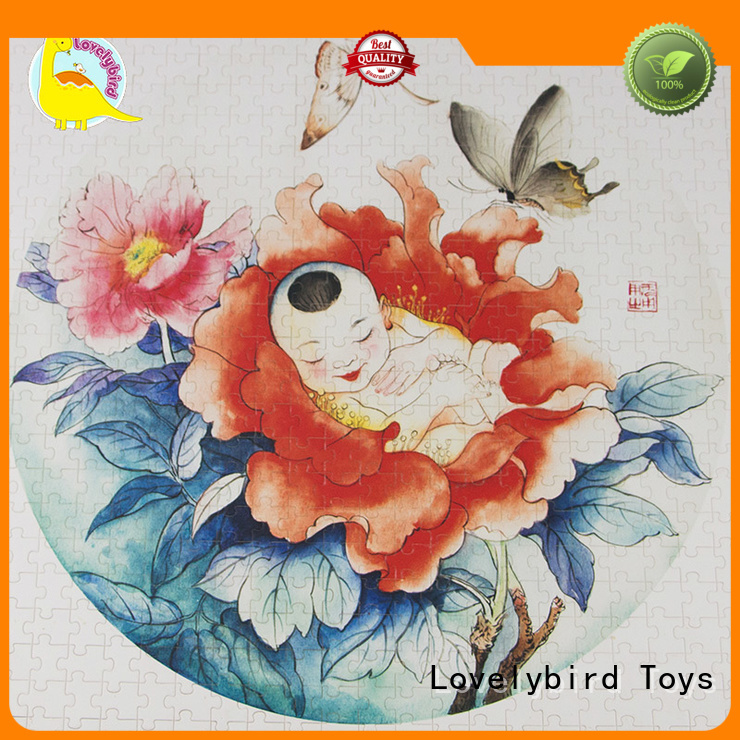 lovely wooden jigsaw puzzles with frame for activities