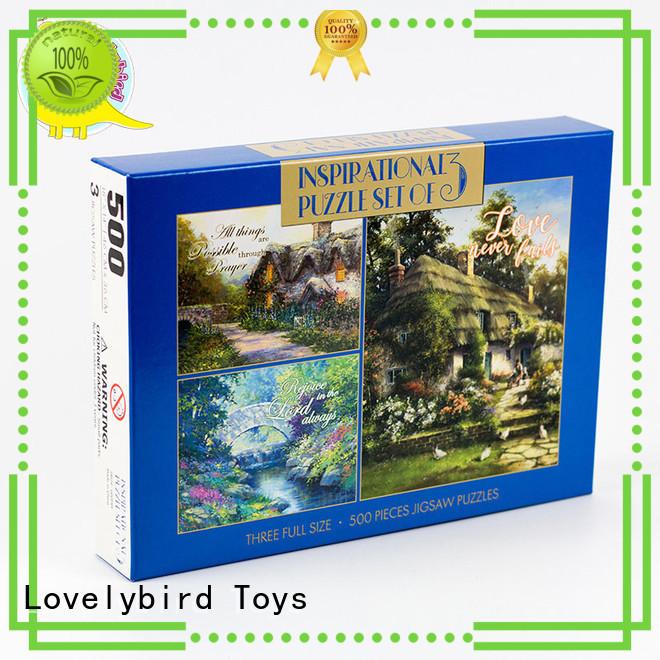 500pcpaper jigsaw game  Lovelybird Toys Brand