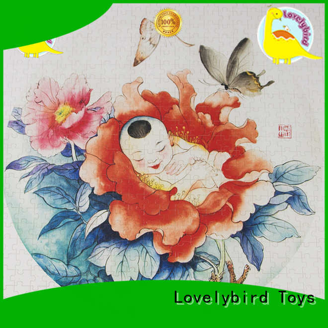 Lovelybird Toys educational best wooden jigsaw puzzles toy for activities
