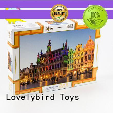game 500 piece puzzles design for entertainment Lovelybird Toys