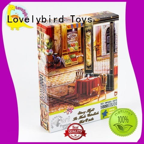 Lovelybird Toys popular  1000 jigsaw puzzles toy for sale