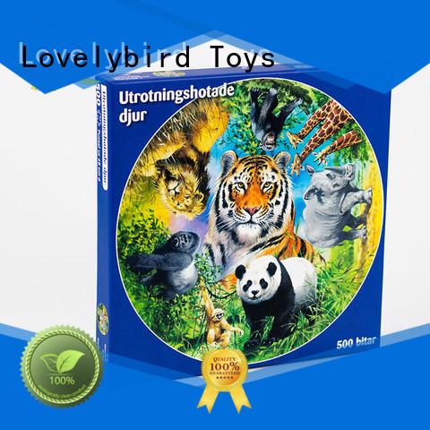 Lovelybird Toys lenticular jigsaw puzzle gratuit toy for sale