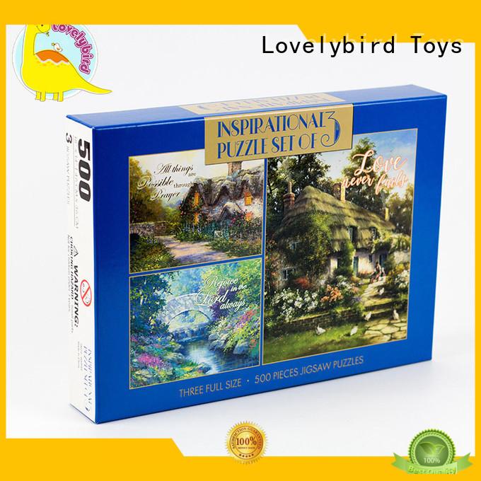 Lovelybird Toys interesting big jigsaw puzzle design for sale