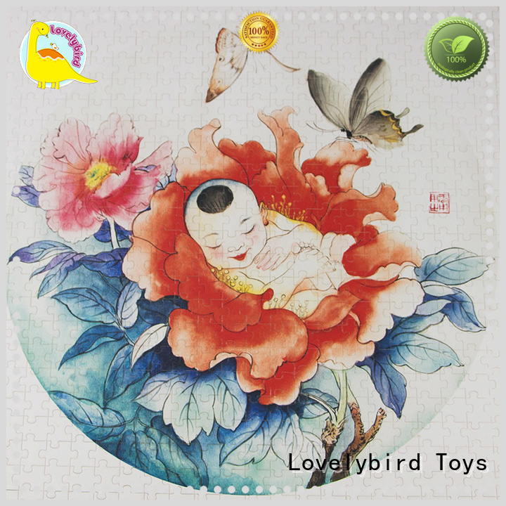 Lovelybird Toys quality best wooden puzzles jigsaw for