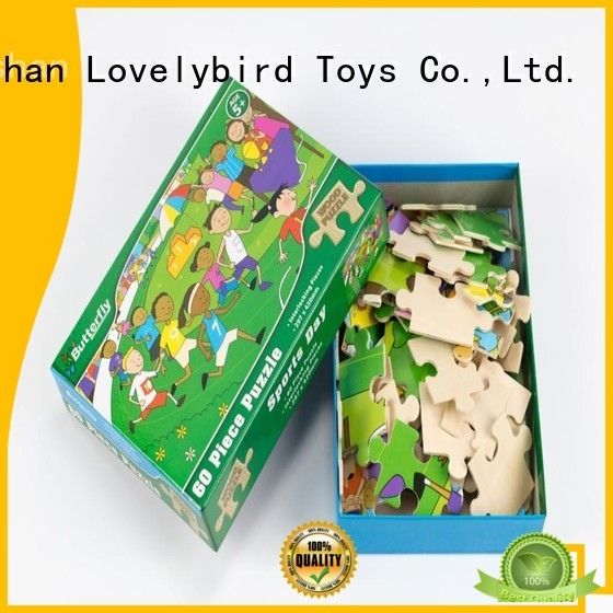 Lovelybird Toys custom personalised wooden puzzles jigsaw