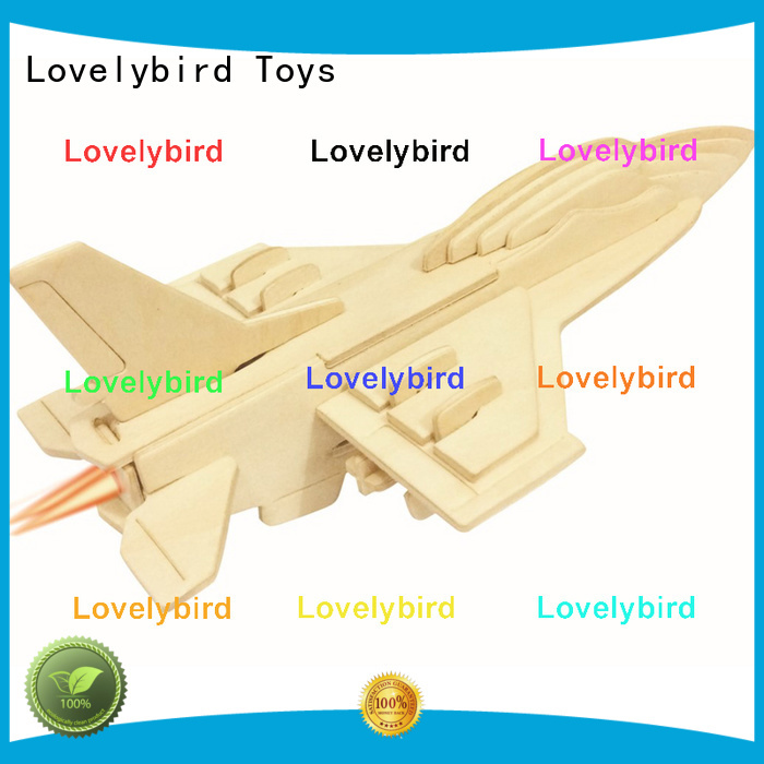 Lovelybird Toys 3d puzzle military company for adults