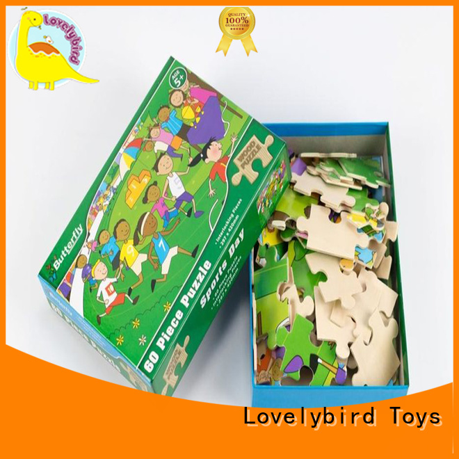 Lovelybird Toys functional wooden puzzles for kids toy for activities