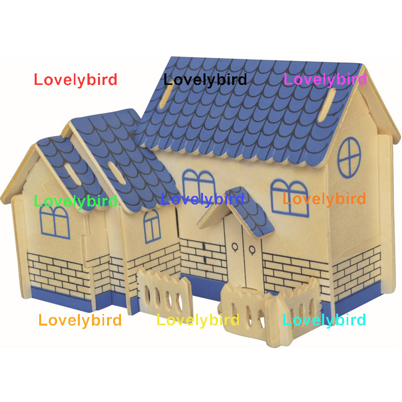 Lovelybird Toys interesting 3d wooden house puzzles factory for business-1