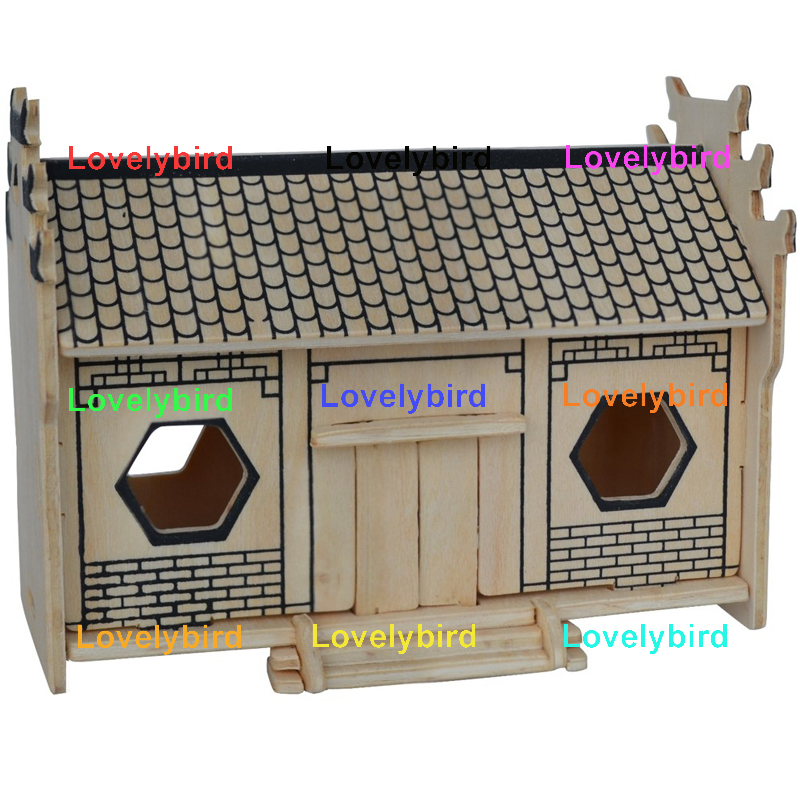 Lovelybird Toys 3d wooden puzzle house manufacturers for adults-1