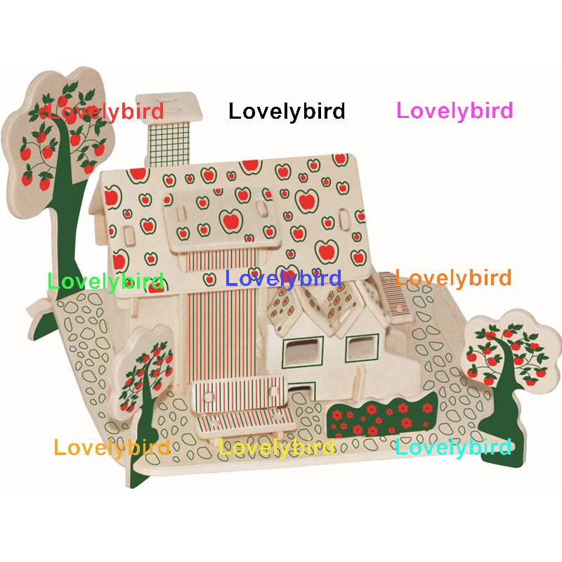 Lovelybird Toys latest 3d wooden house puzzles manufacturers for business-1