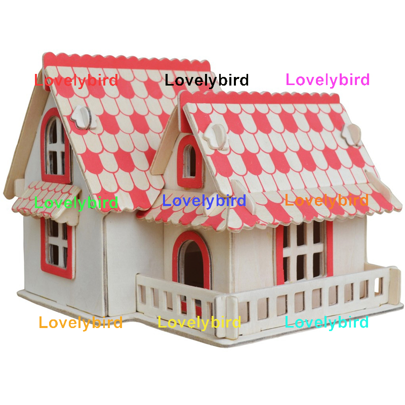 Lovelybird Toys custom 3d building puzzle manufacturers for sale-1