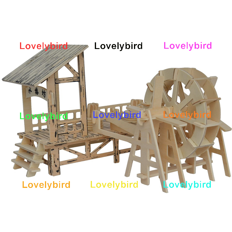 Lovelybird Toys good selling 3d wooden house puzzles suppliers for sale-1