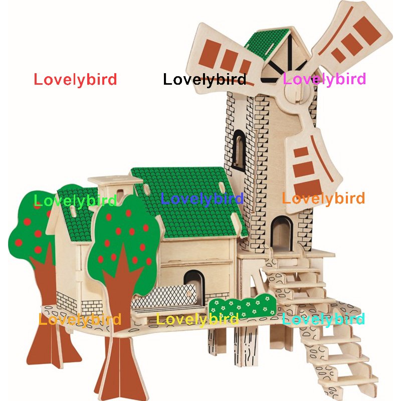 Lovelybird Toys high-quality 3d building puzzle factory for kids-1
