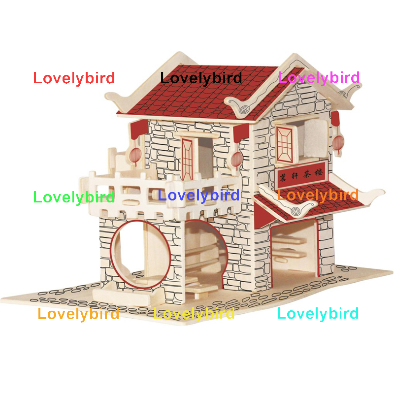 hot sale 3d wooden house puzzles company for adults-1