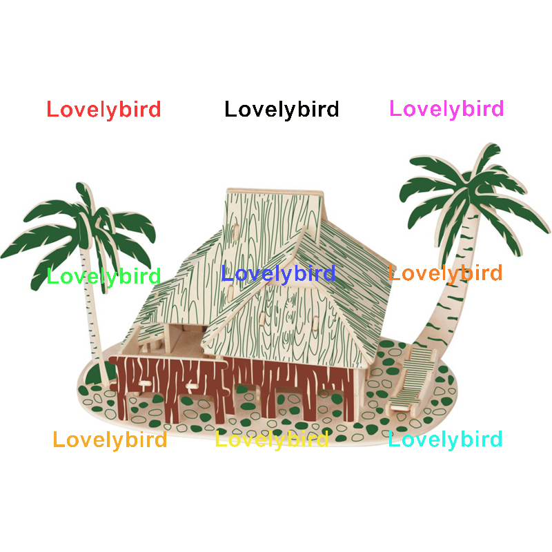 Lovelybird Toys latest 3d building puzzle manufacturers for present-1
