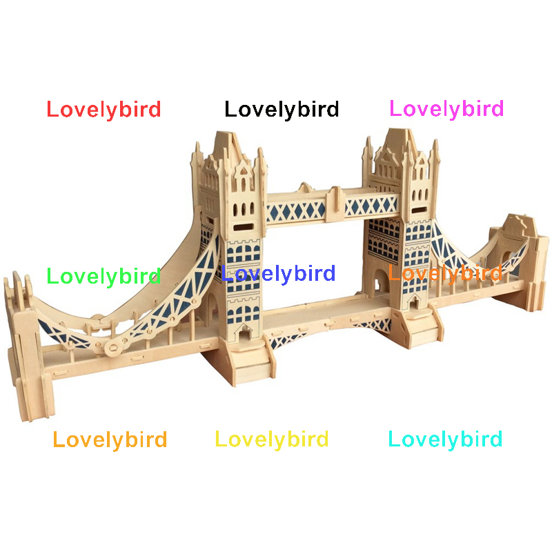 Lovelybird Toys 3d wooden house puzzles manufacturers for adults-1