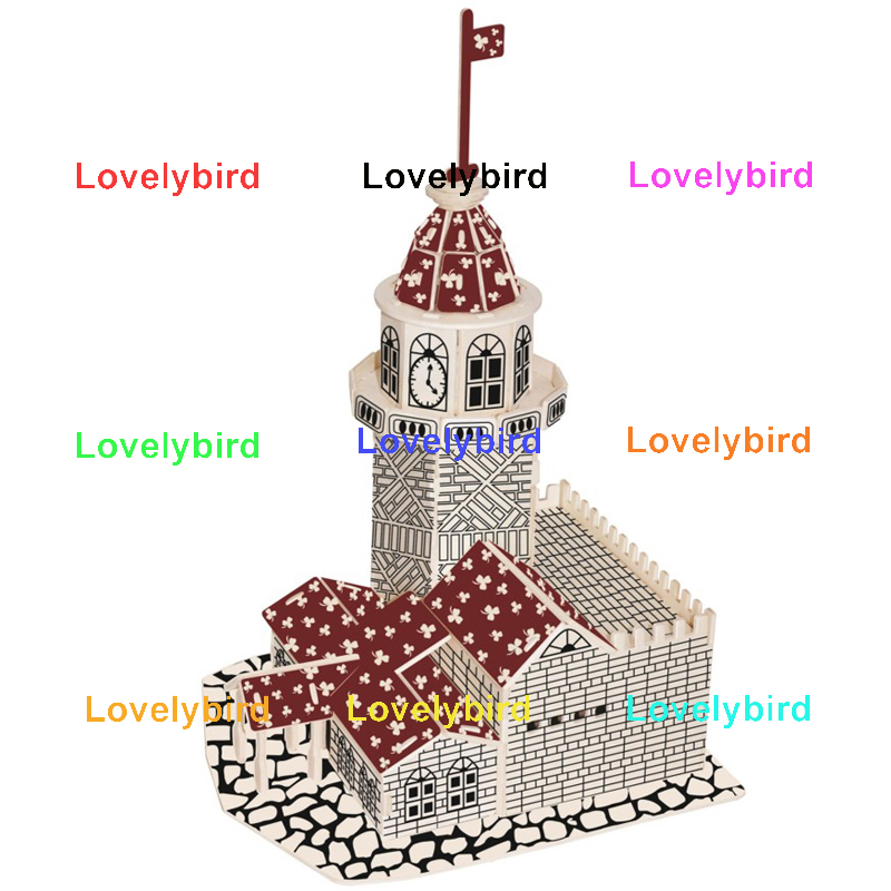 Lovelybird Toys hot sale 3d wooden house puzzles factory for business-1