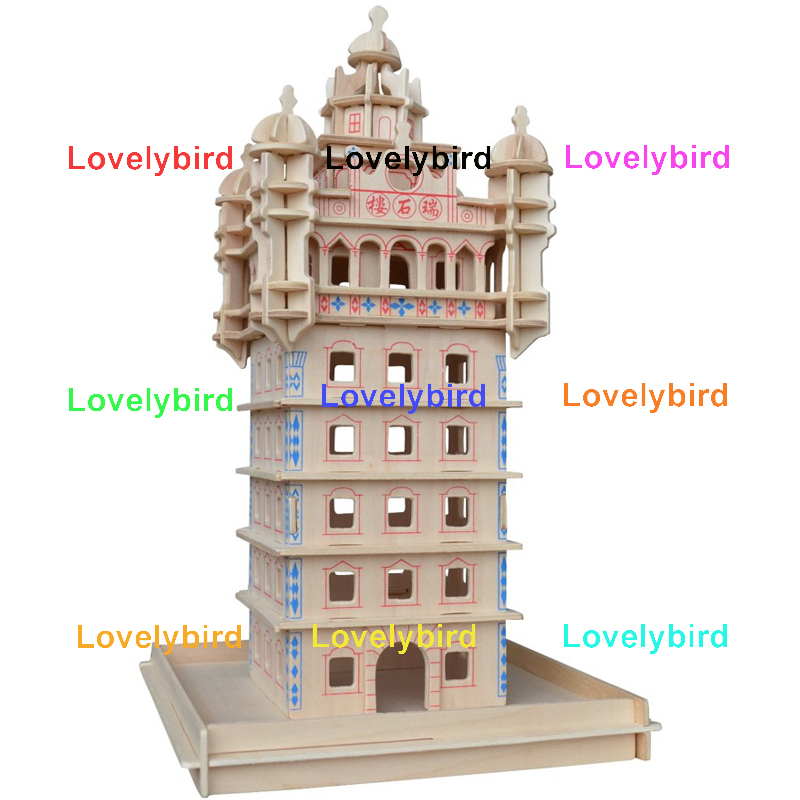 latest 3d wooden house puzzles manufacturers for business-1