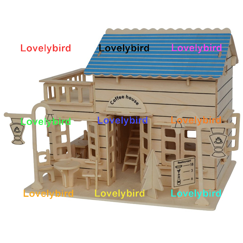 Lovelybird Toys new 3d wooden puzzle house factory for business-1