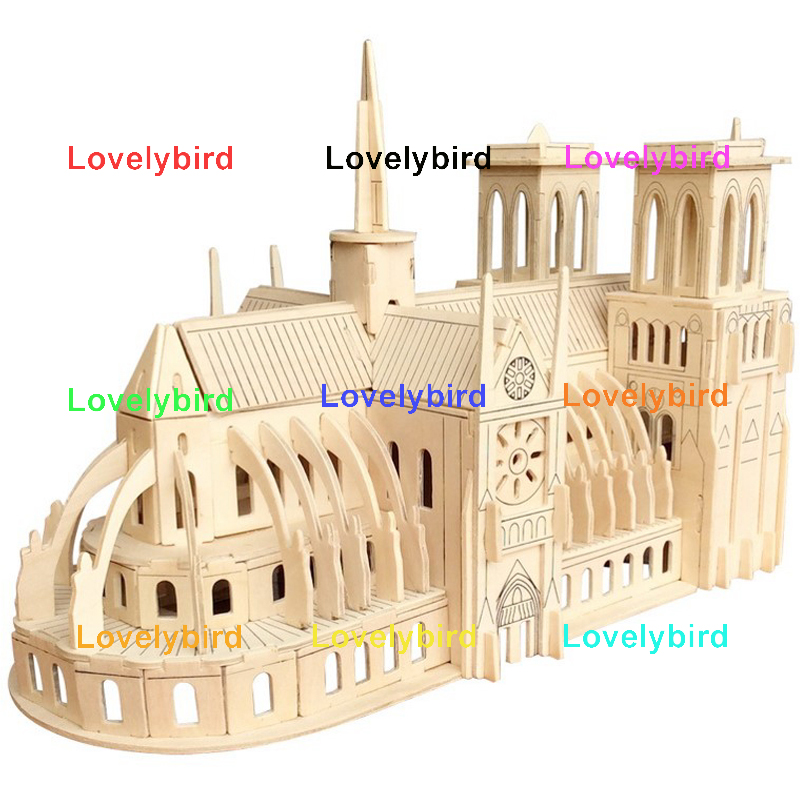 wholesale 3d wooden house puzzles manufacturers for business-1