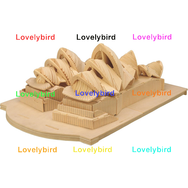 high-quality 3d wooden house puzzles factory for sale-1