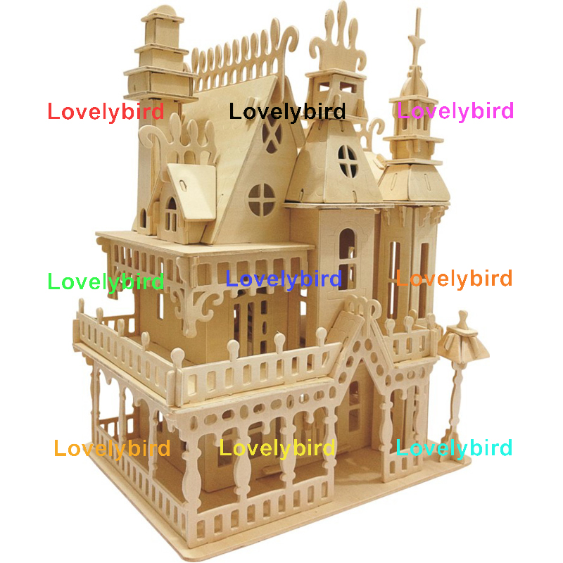 Lovelybird Toys new 3d wooden house puzzles manufacturers for present-1