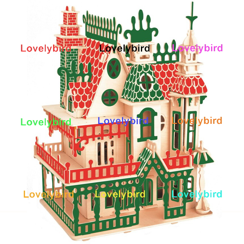 Lovelybird Toys 3d wooden house puzzles factory for business-1