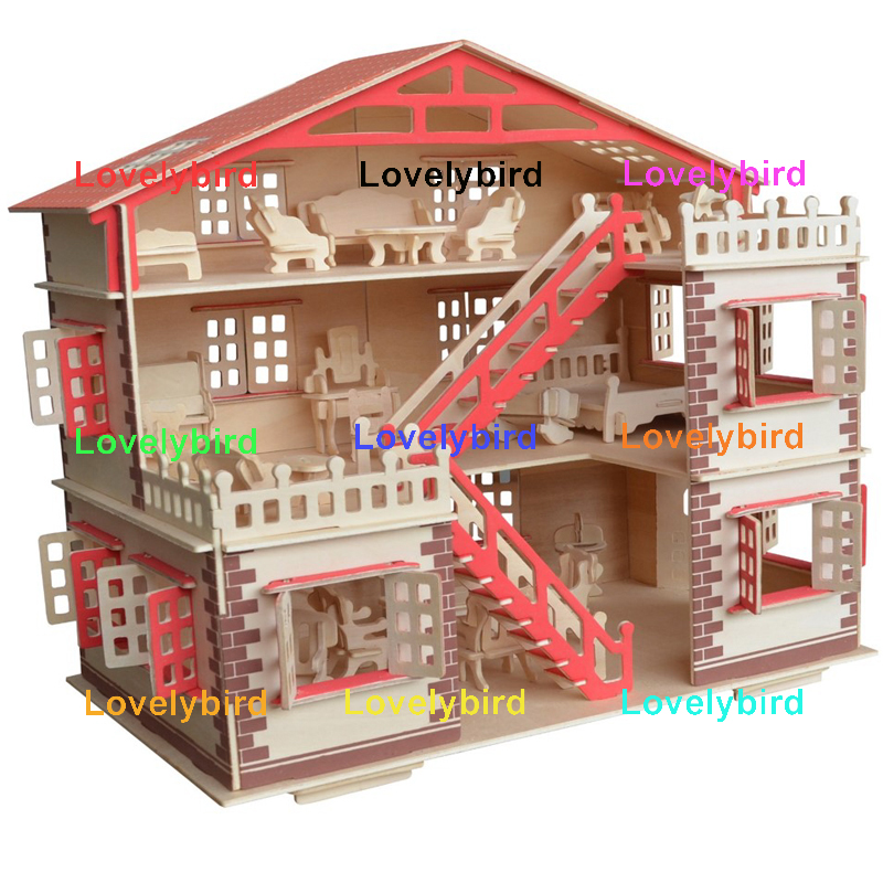 Lovelybird Toys 3d wooden house puzzles company for kids-1