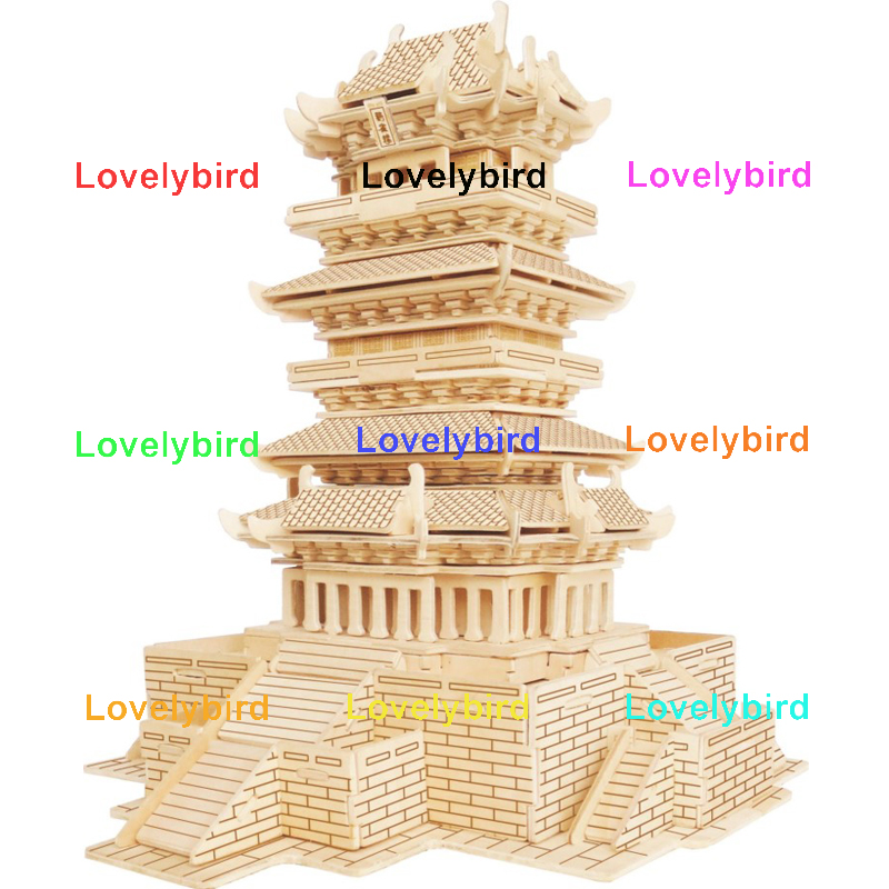 Lovelybird Toys 3d wooden house puzzles company for business-1