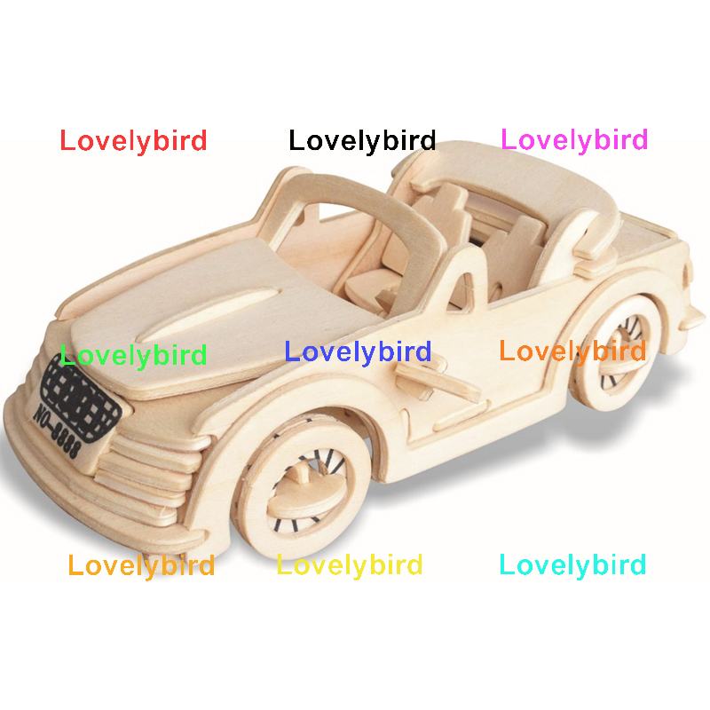 Lovelybird Toys custom 3d wooden car puzzle suppliers for adults-1