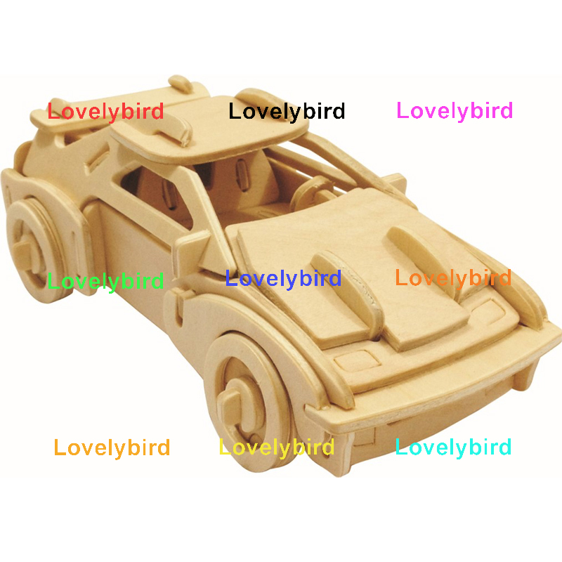 Lovelybird Toys 3d wooden puzzle ship company for kids-1