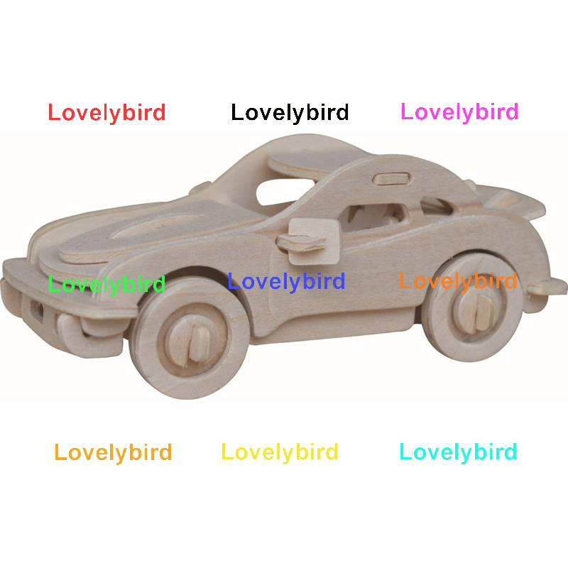 Lovelybird Toys 3d wooden car puzzle factory for business-1