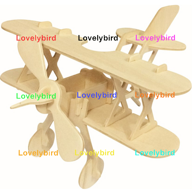Lovelybird Toys 3d wooden car puzzle suppliers for kids-1