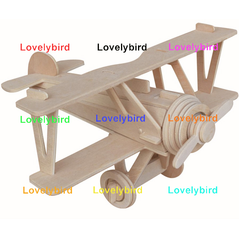 Lovelybird Toys 3d wooden car puzzle supply for entertainment-1