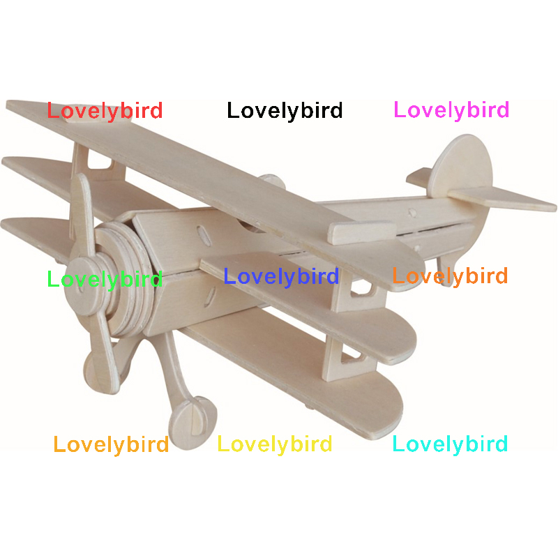 Lovelybird Toys 3d airplane puzzle manufacturers for kids-1