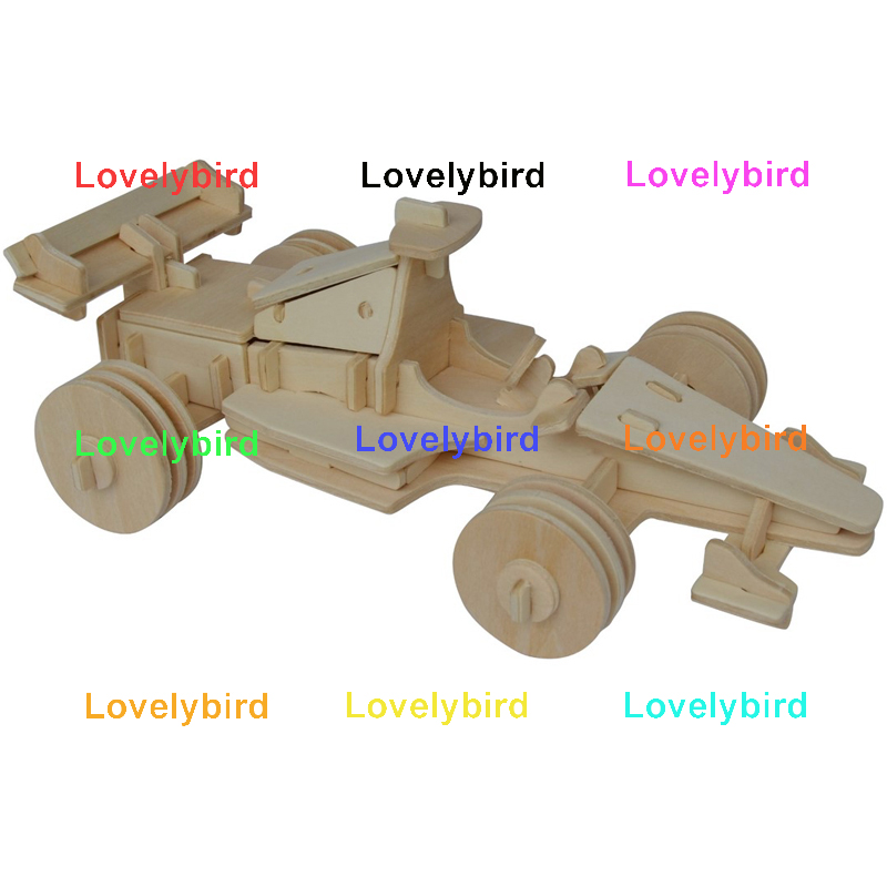 Lovelybird Toys 3d airplane puzzle suppliers for present-1