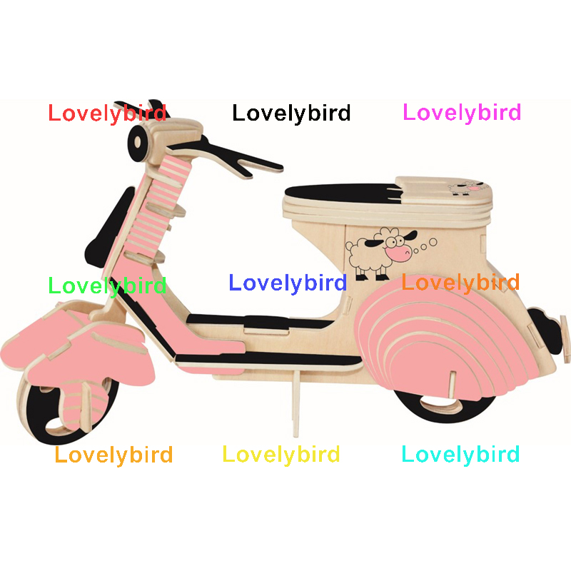 Lovelybird Toys 3d wooden puzzle car manufacturers for kids-1