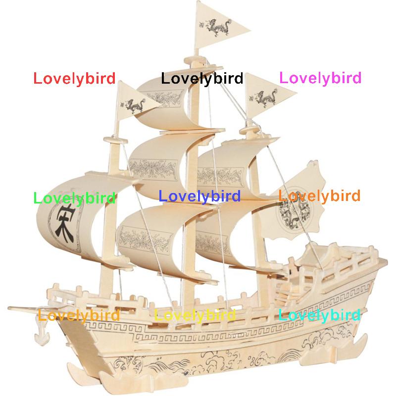 Merchant Sailboat