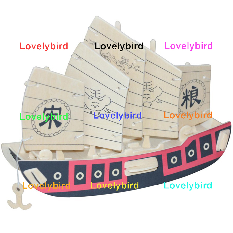 Lovelybird Toys latest 3d wooden puzzle ship company for business-1