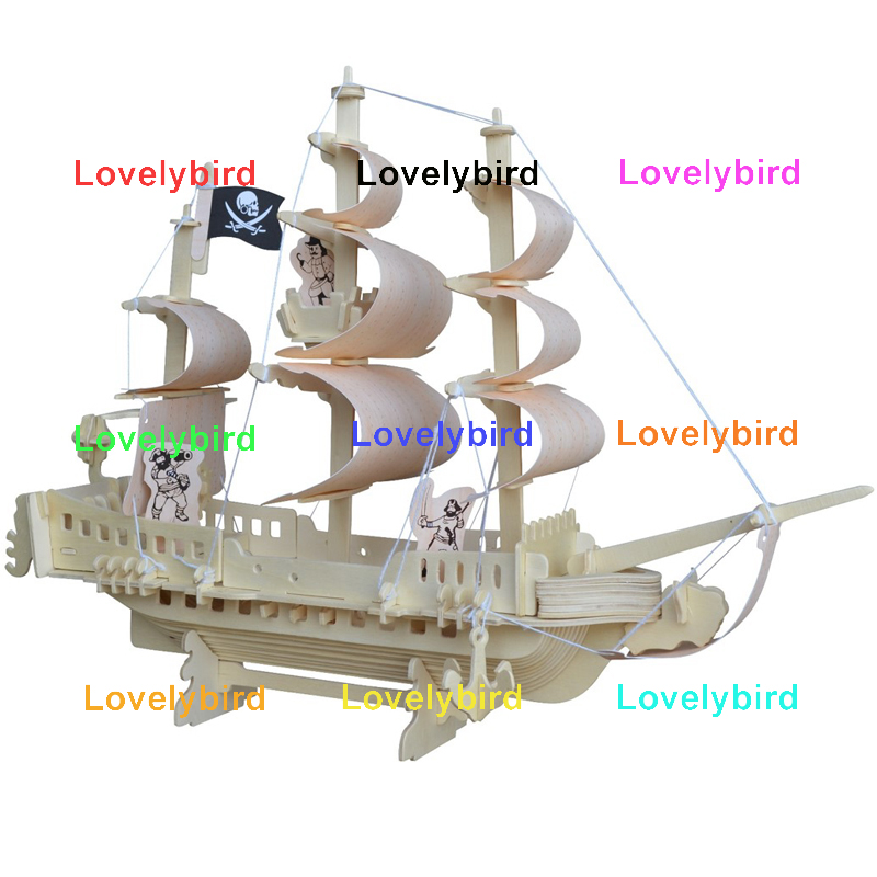 Lovelybird Toys 3d wooden puzzle car suppliers for sale-1