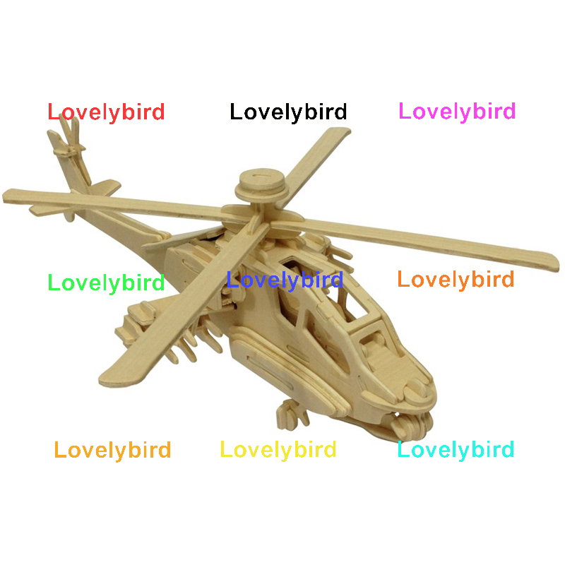 Lovelybird Toys new 3d puzzle military manufacturers for present-1